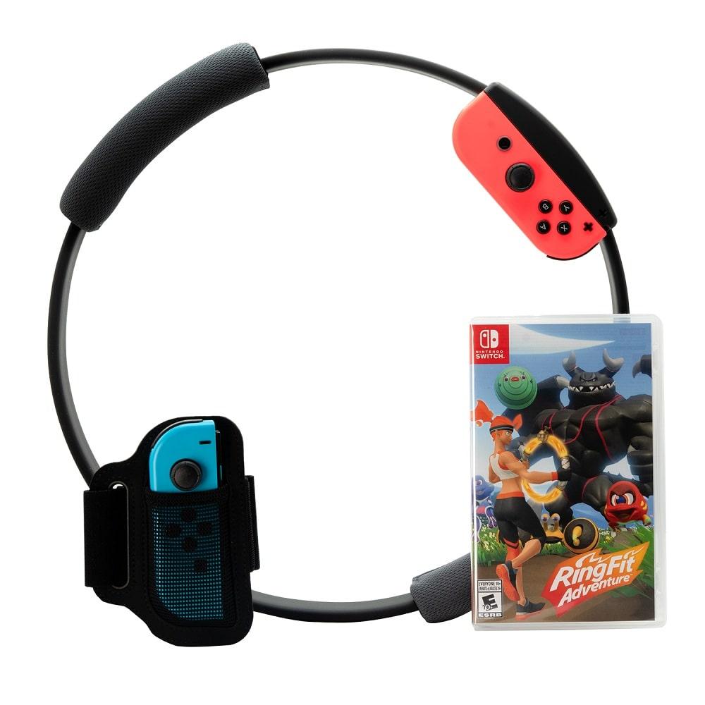 نینتندو سوییچ باندل Ring Fit Adventure Nintendo Switch (1)