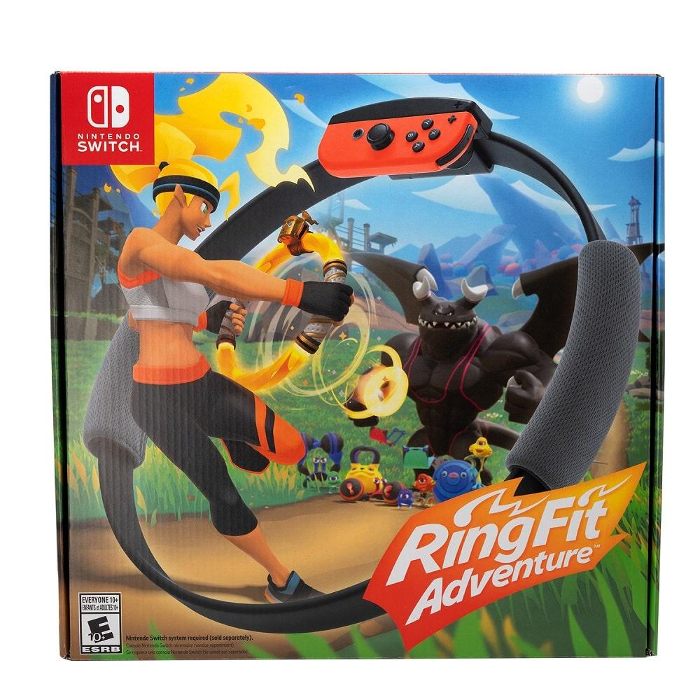 نینتندو سوییچ باندل Ring Fit Adventure Nintendo Switch (5)