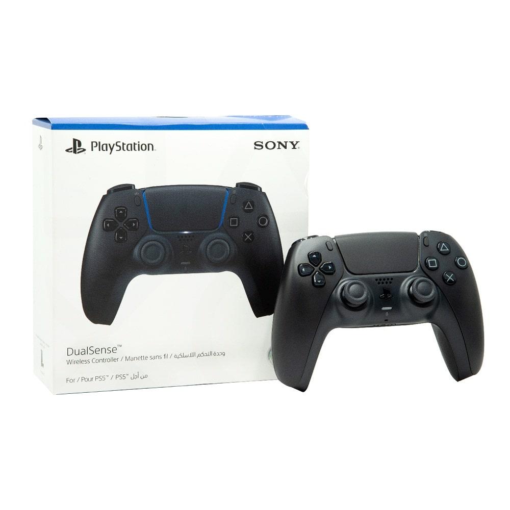 دسته PS5 DualSense مدل Midnight Black-min