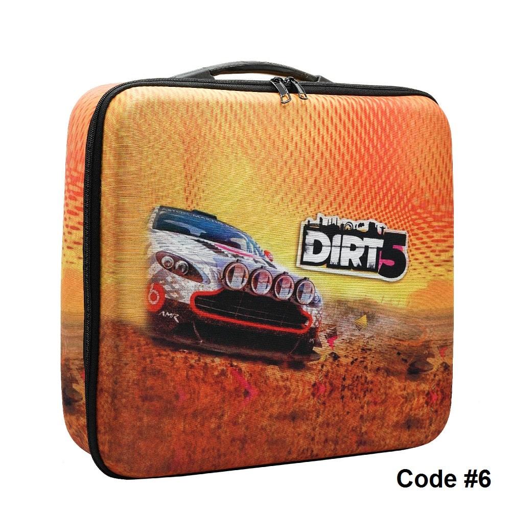 کیف PS5 طرح dirt 5