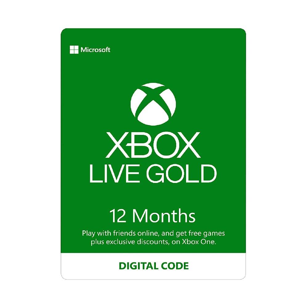 اشتراک 12 ماهه Xbox Live Gold