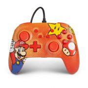 کنترلر PowerA Enhanced Wired نینتندو سوییچ طرح Mario Vintage