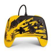 کنترلر PowerA Enhanced Wired نینتندو سوییچ طرح Pikachu Lightning